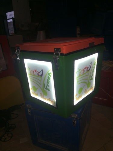 Led Motorcycle Delivery Box