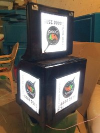 Led Insulated Bike Delivery Boxes