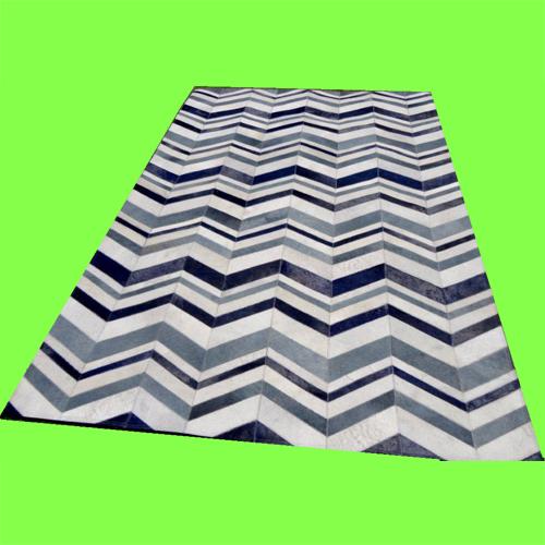 Designer Leather Patchwork Carpets