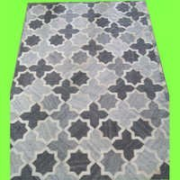 Printed Leather Patchwork Carpets