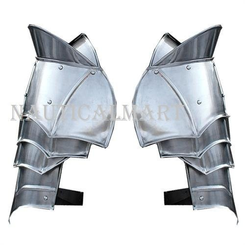 Steel Pauldron Medieval Shoulder Guard Armor Set