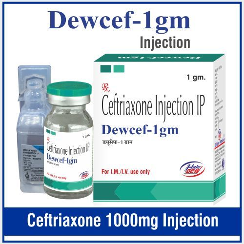 Ceftriaxone 1 gm