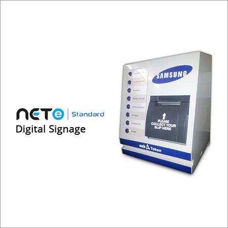 Queue Management System With Digital Signage