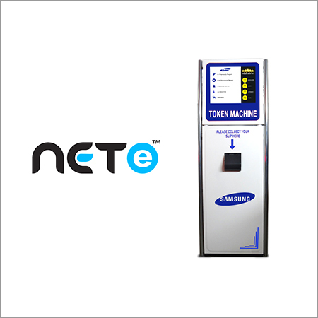 Touch Screen Token Dispenser