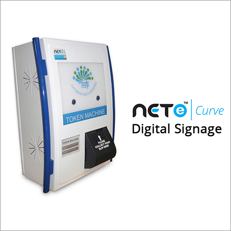 Digital Signage Queue Management System