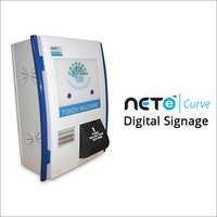 Digital Signage Queue Management System