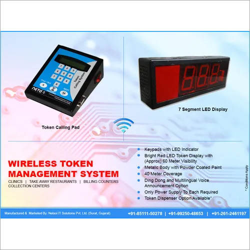 Token Number Display System