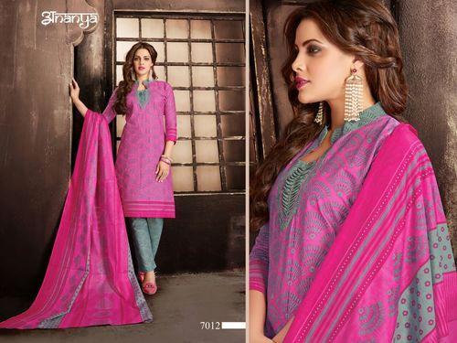 Rajavir Cotton Printed Dress Material
