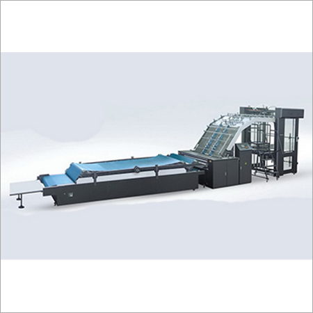 High Speed Auto Flute Laminating Machine