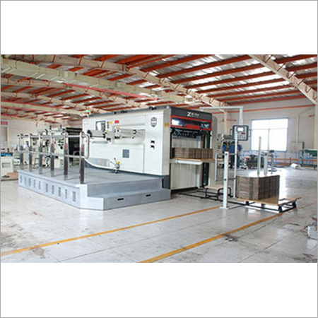 Semi Automatic Flatbed Die Cutter Machine