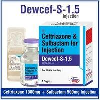 Ceftriaxone 1 gm + Sulbactum 500 mg