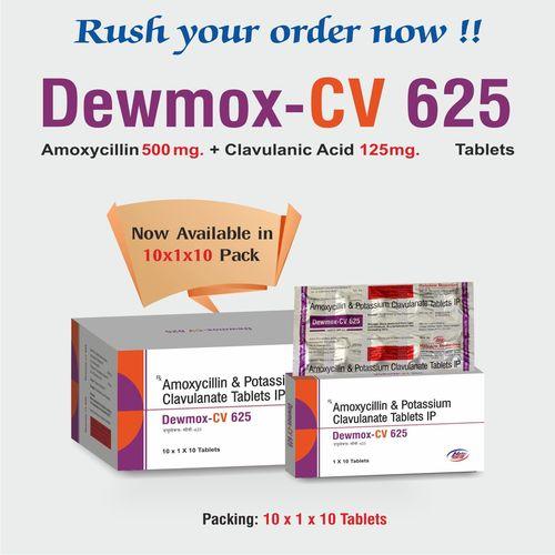 Amoxycillin 500 mg+ Clavulanic 125 mg
