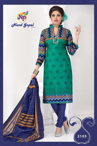 Nand Gopal Cotton Printed Dress Material