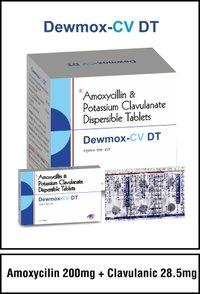 Amoxycillin 200 mg + Clavulanic 28.5 mg