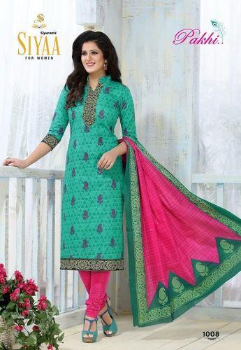 Siyarams Cotton Printed Dress Material
