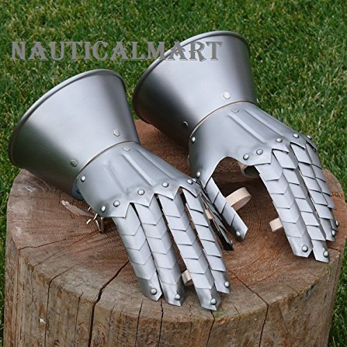 Medieval Knight Gauntlets Gothic Gloves