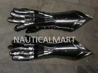 Medieval Armor Solid Steel Gauntlets Set