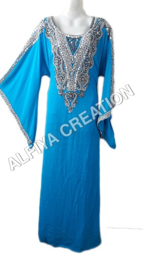 Exclusive dubai style fancy sleeves kaftan fatasha