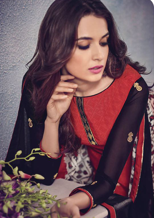 Stylish Black Silk Casual Wear Saree