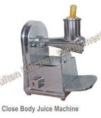 Close Body Juice Machine
