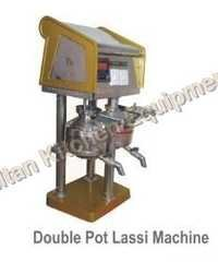 Double Pot Lassi Machines