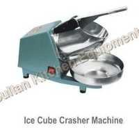 Ice Cube Crusher Machine