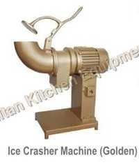 Ice Crusher Machine (Golden)