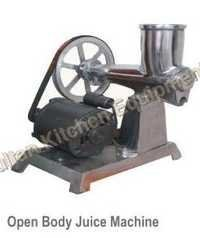 Open Body Juicer Machine