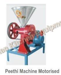 Motorised Peethi Machine