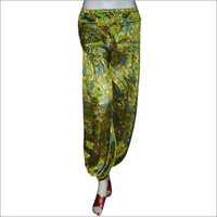 Silk Harem Trouser