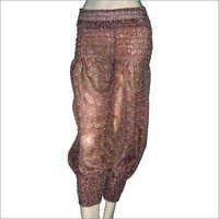 Silk Printed Trouser