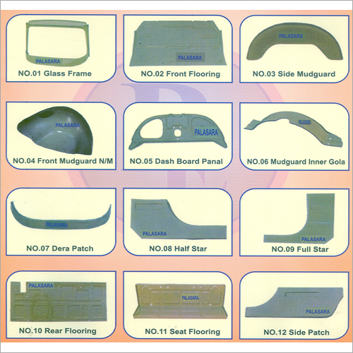 Bajaj Auto Rickshaw Body Parts