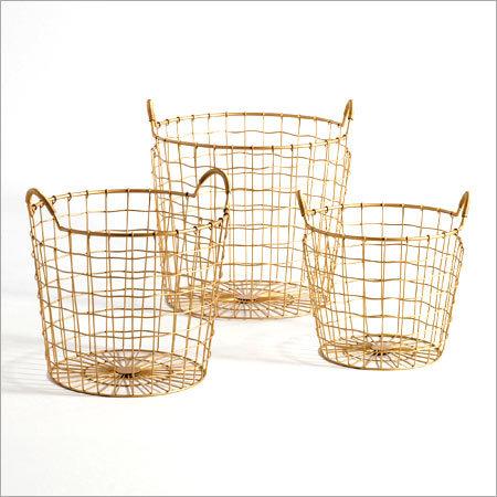 Designer Metal Baskets