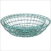 Metal Round Baskets