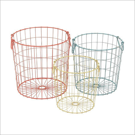 Decorative Metal Baskets