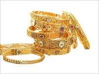 Gold Wedding Bangles