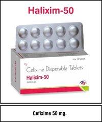 Cefixime 50 mg.