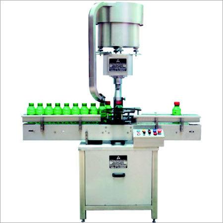 Automatic Single Head Screw Capping Machine