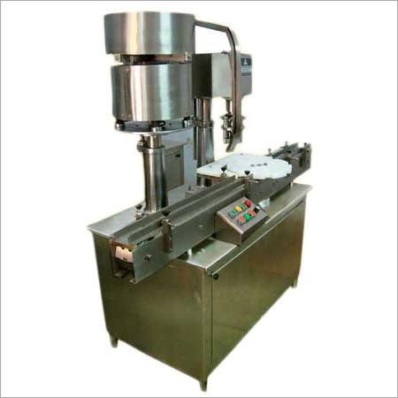 Single Head Aluminium Cap Sealing Machine