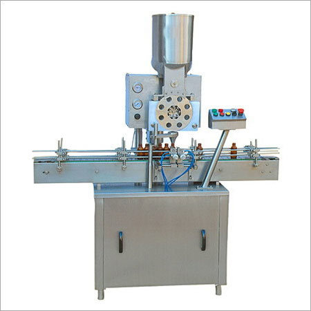 Automatic Dry Syrup Filling Machine