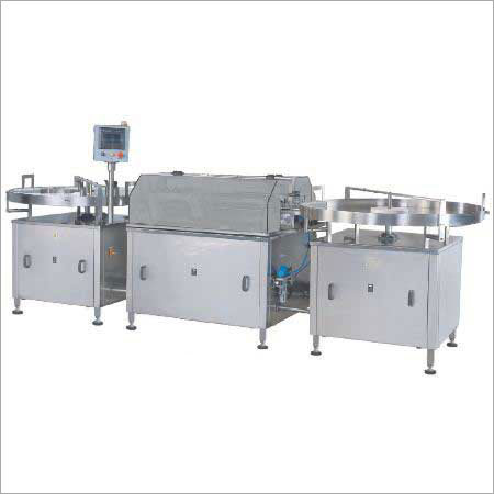 Automatic Linier External Vial Washing Machine