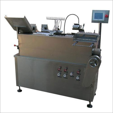 Automatic High Speed Four Head Ampoule Filling And Sealing Machine