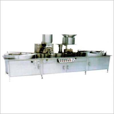 Automatic Injectable Single Head Powder Filling Machine