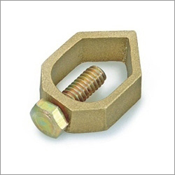 Brass Earthing Rod Clamp
