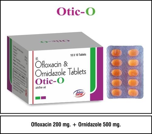 Ofixime 200 mg + Ornidazole 500 mg