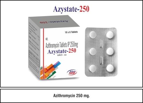 Azithromycin  250 mg.