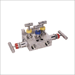 H Type Pipe To Flange 5 Way Manifolds Valves