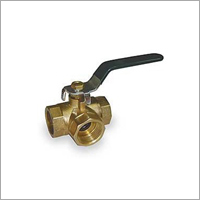 Golden Brass Ball Valve