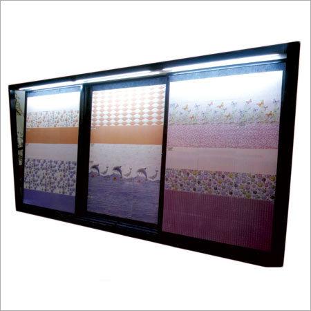 Metal Ceramic Tile Display Stand