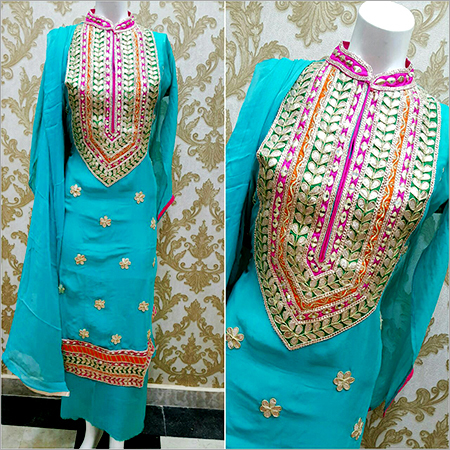 Cotton Gota Patti Suits